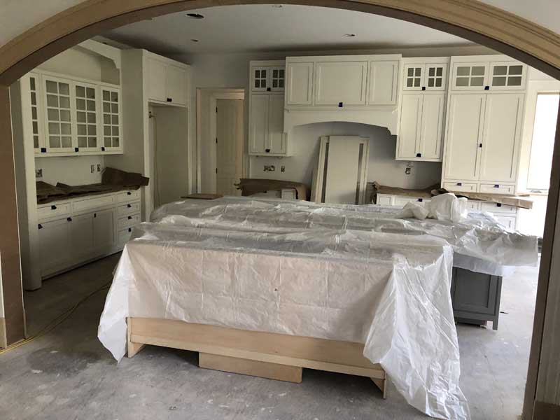 new kitchen in the works