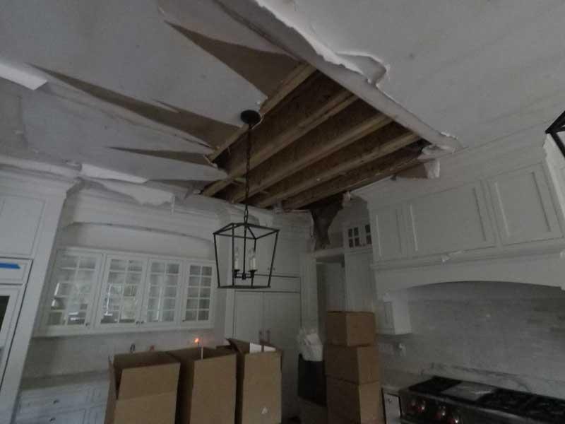 Kitchen leakage